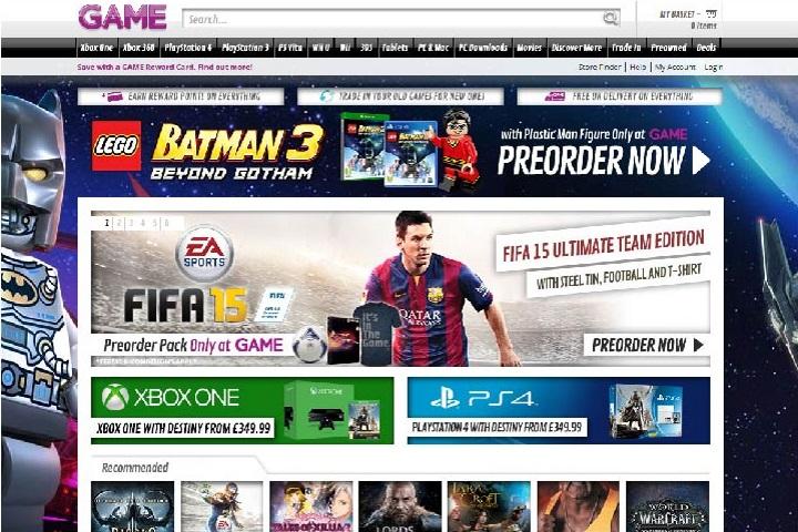 online game sales