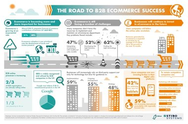The Road to B2B eCommerce Success [Infographic]