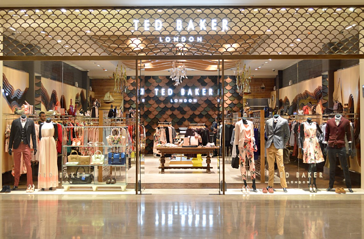 Ted baker introduces slick in store payment solution salmon for Ted s fishing station