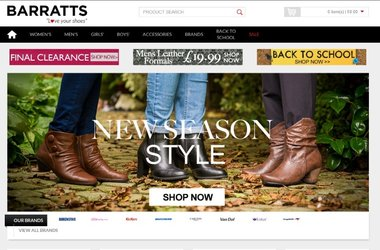 Salmon help Barratts launch their first iPhone App – as the retailer ramps up its mobile commerce strategy