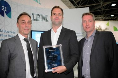 Salmon receive the IBM Industry Solutions Choice Award for Commerce