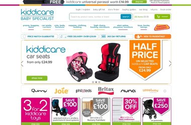 Salmon delivers eCommerce optimisation services to Kiddicare.com resulting in 86% increase in repeat purchases