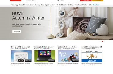 Argos.co.uk Ranked 2nd Most Visited High Street Retailer Online