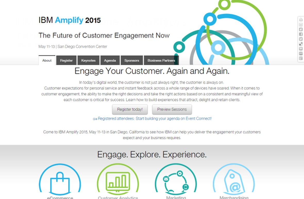 ​Salmon helps brands to optimise customer experience at IBM Amplify 2015