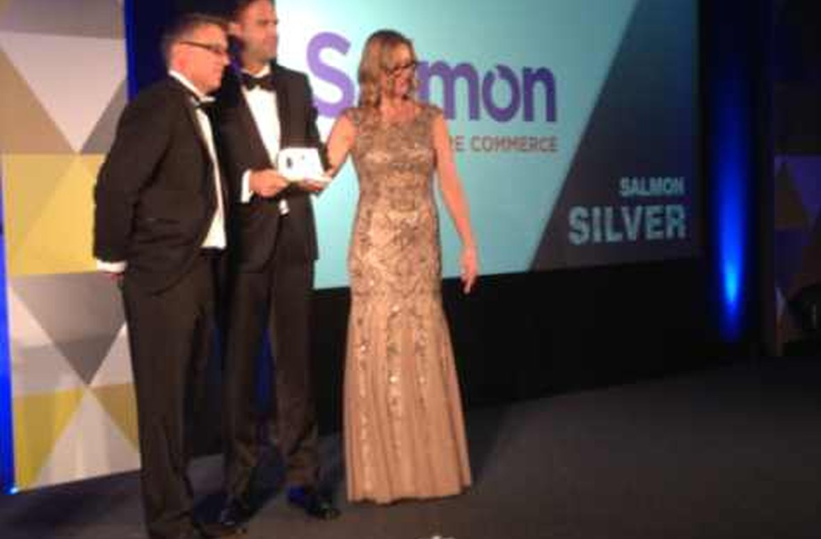 ​Salmon wins E-commerce and M-commerce provider of the year at the Online Retail Awards 2014