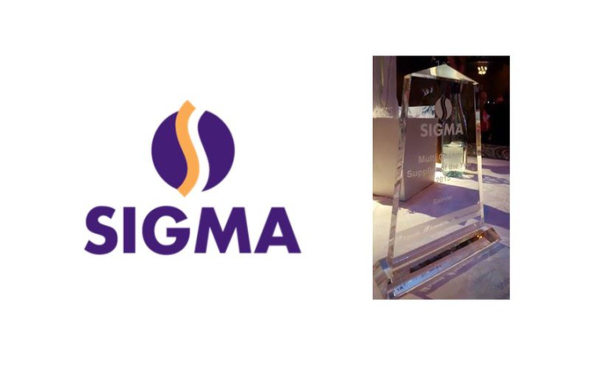 Award - Sigma's Multichannel Supplier of the Year