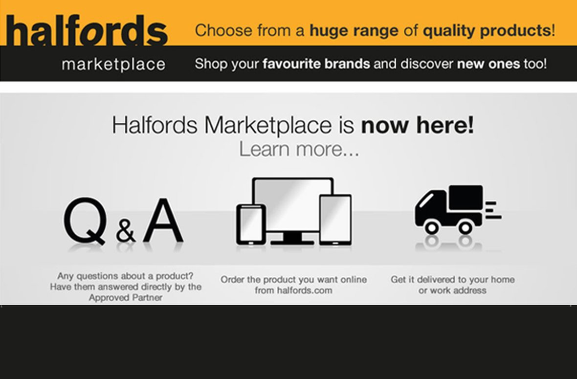 ​Salmon partners with Halfords to launch online marketplace