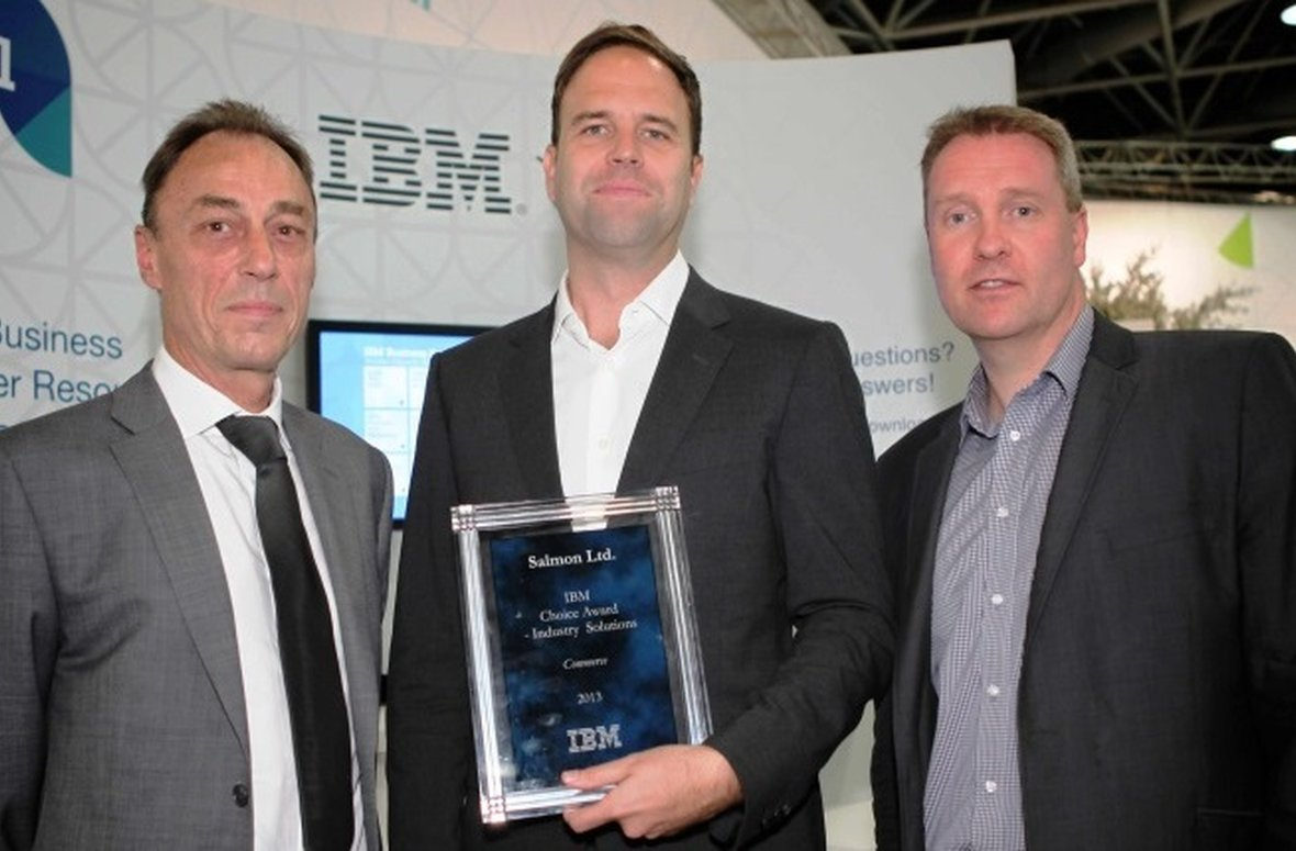 Award - IBM Industry Solutions Choice 2013