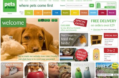 Pets At Home choose Salmon for eCommerce project