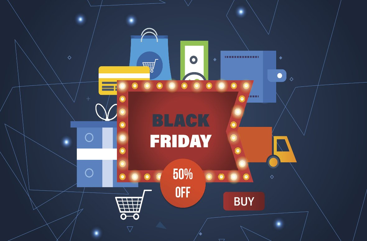 ​Black Friday Current Trends Alert - International orders up likely due to weak pound; retailers hit by 'Basket Bandits'