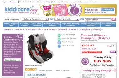 Kiddicare aims to triple online sales with new eCommerce platform