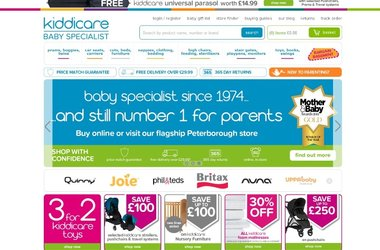 Salmon's eCommerce optimisation services boost Kiddicare's repeat purchases