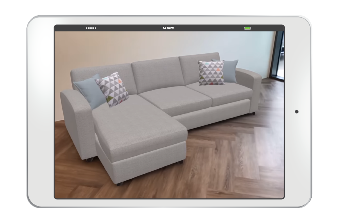 Bringing the lounge to life: DFS launches new in-browser AR function