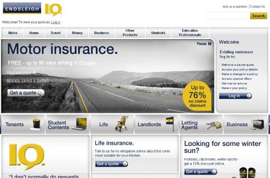 A new intelligent eCommerce website for Endsleigh Insurance
