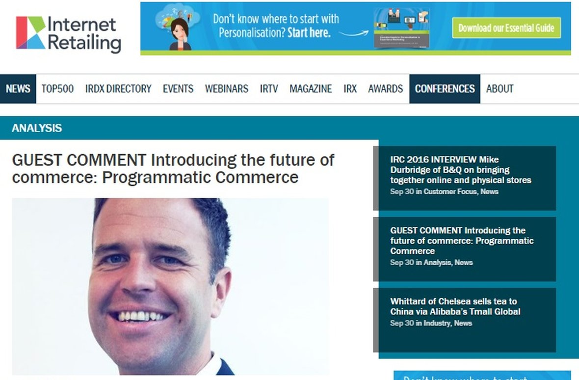 Neil Stewart talks future of retail to Internet Retailing
