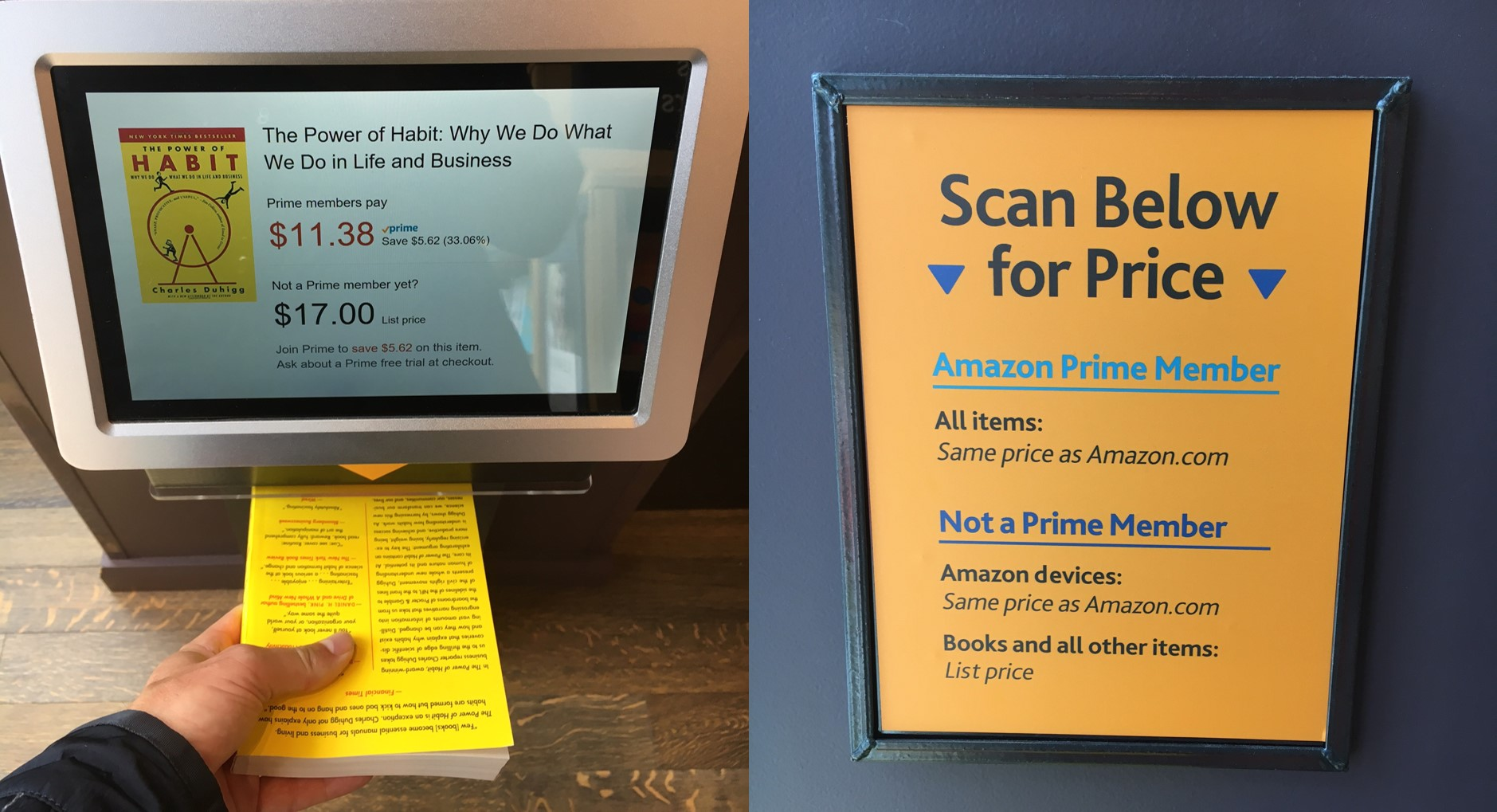 Amazon Book Scanning